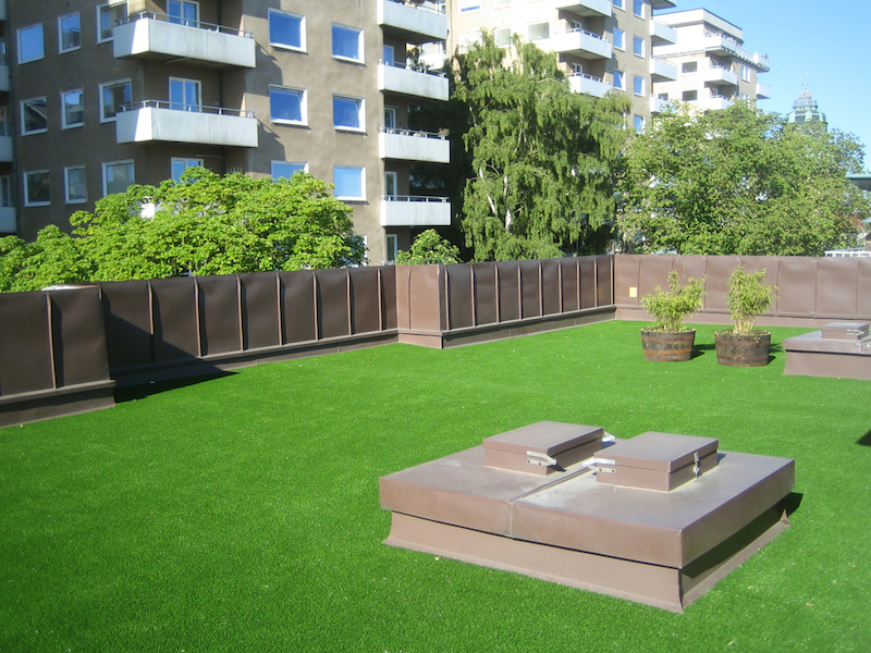 Lawn Roof Artificial Grass Green Roof Garden Next 2 Natural