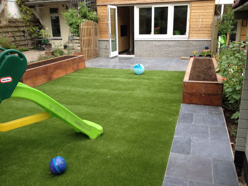 Photos With Examples Of Artificial Turf Garden Playground Balcony Roof Terrace Etc