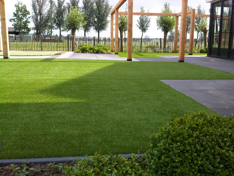 How About My Artificial Lawn During The Winter
