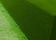 Artificial grass pyramids