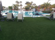 Artificial grass pool